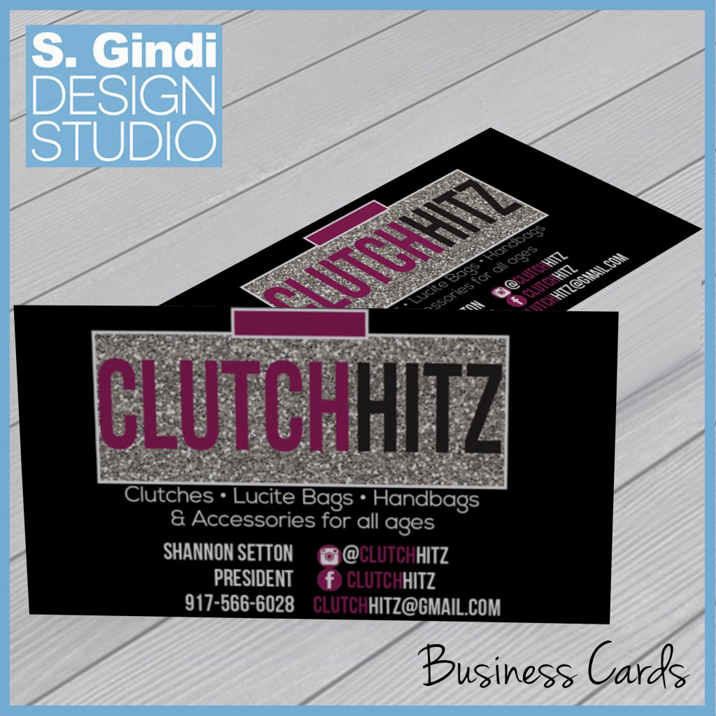 Business Cards for ClutchHitz