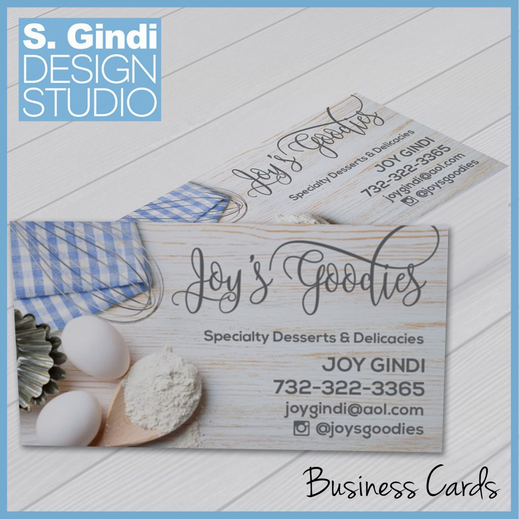 Business Cards for Joy's Goodies