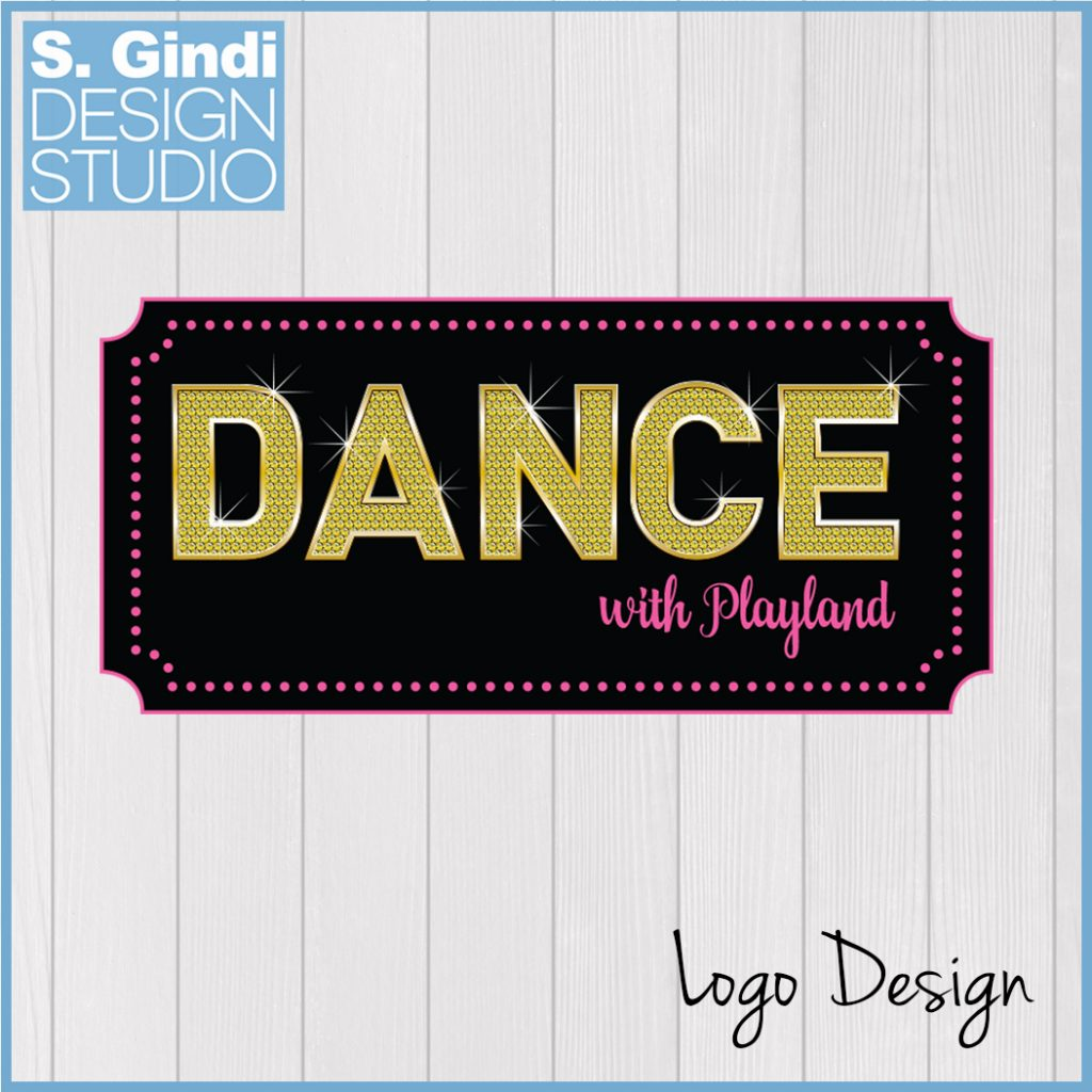 Logo Design for Dance with Playland