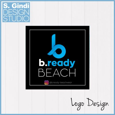Logo for b.ready Beach