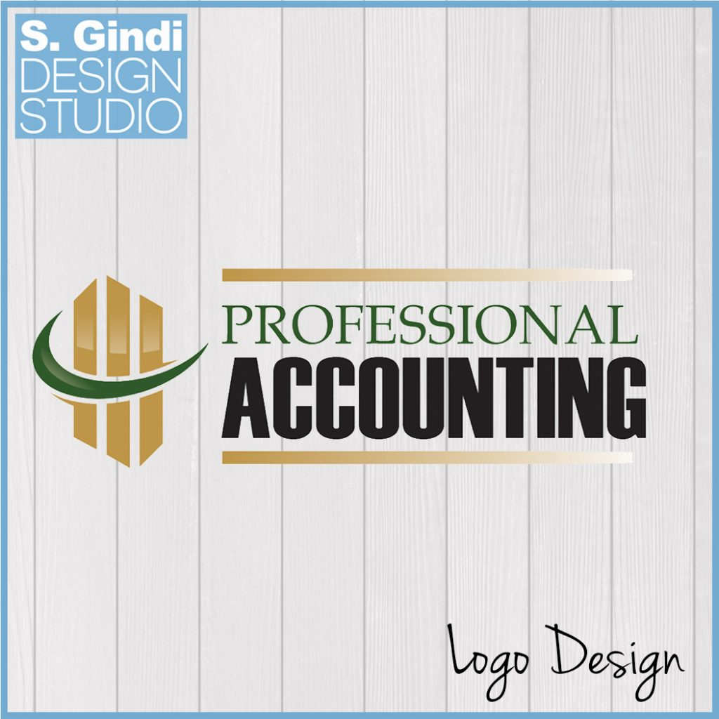 Logo Design for Professional Accounting