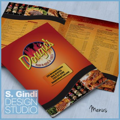 Menus for Dougie's Barbeque & Grill