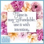 Time is non-refundable