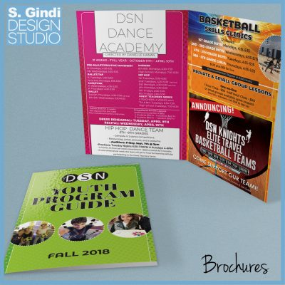 After-School Brochures Designed for DSN