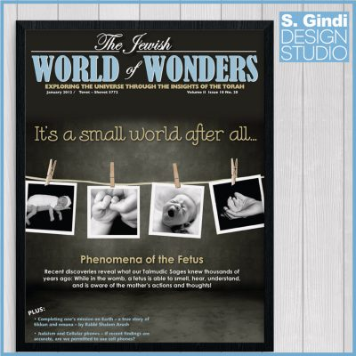 World of Wonders Magazine & Cover Design