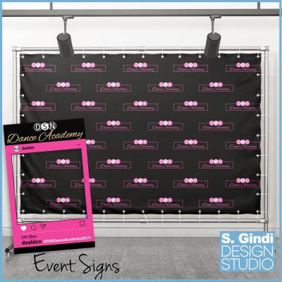 DSN Dance Event Sign
