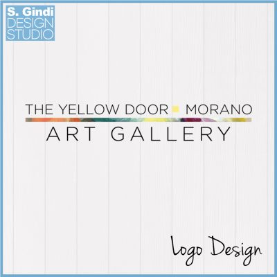Logo Designed for The Yellow Door Morano Art Gallery