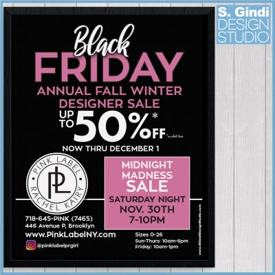 Pink Label Black Friday Ad