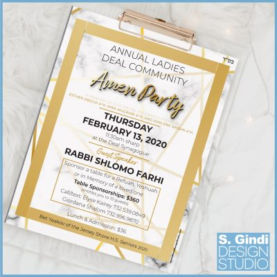 Amen Party – Flyer Design