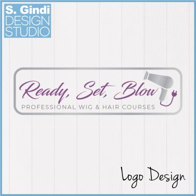 Ready, Set, Blow Logo Design
