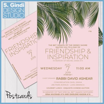 Day of Friendship & Inspiration Postcards