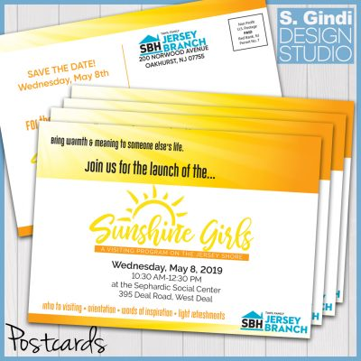 SBH Sunshine Girls Postcards