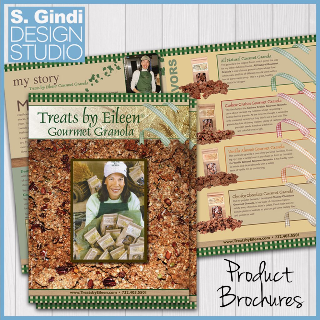 Brochures for Treats by Eileen