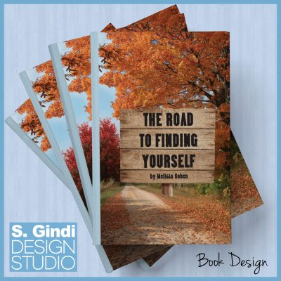 """Book Cover """"The Road to Finding Yourself"""""""