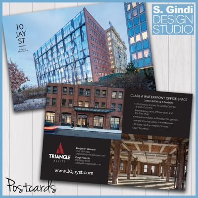 Triangle Assets Printed Postcards